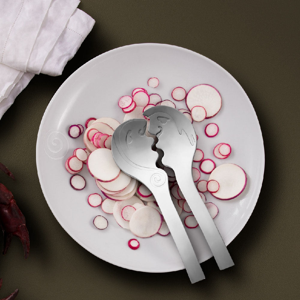 CaRRoL BoYeS (KISS) SALAD SERVERS