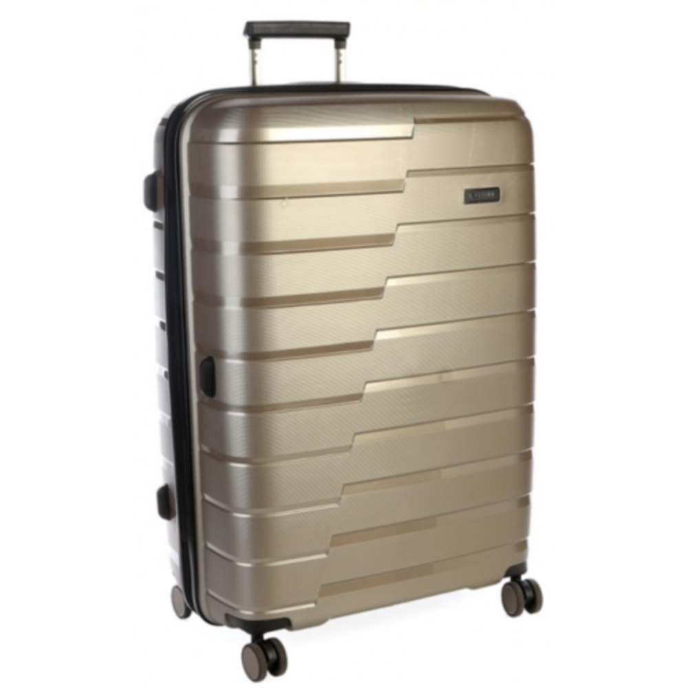 CELLINI NEW MICROLITE TROLLEY CASE (GOLD)
