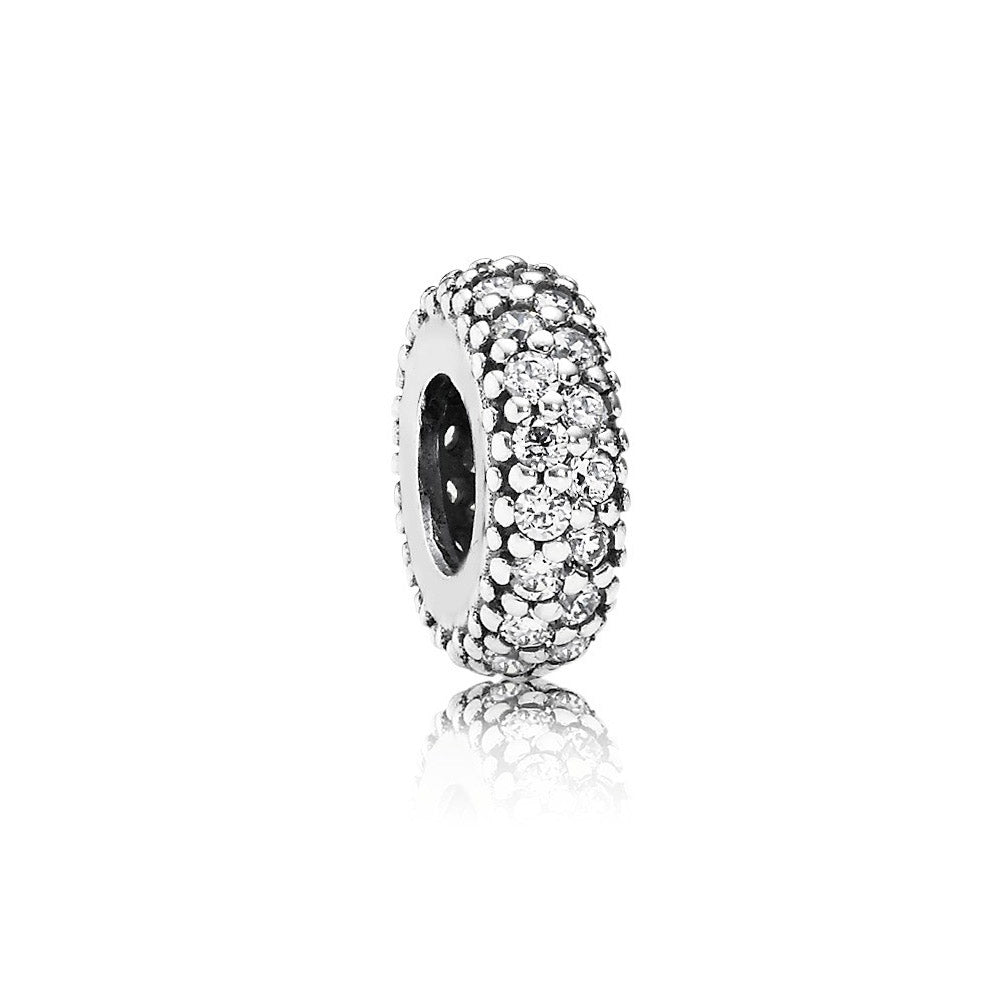 PANDORA (ABSTRACT SILVER) SPACER