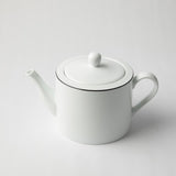 JENNA CLIFFORD (JC-7042) (PREMIUM PORCELAIN) (WITH BLACK BAND) TEAPOT