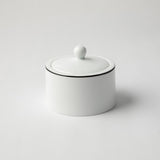 JENNA CLIFFORD (JC-7043) (PREMIUM PORCELAIN) (WITH BLACK BAND) SUGAR POT