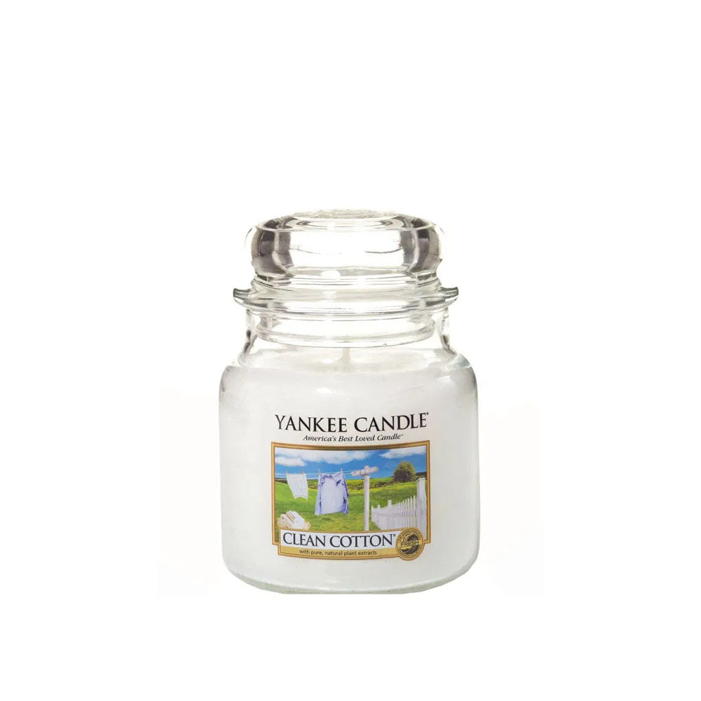 YANKEE CANDLE (CLEAN COTTON) CANDLE