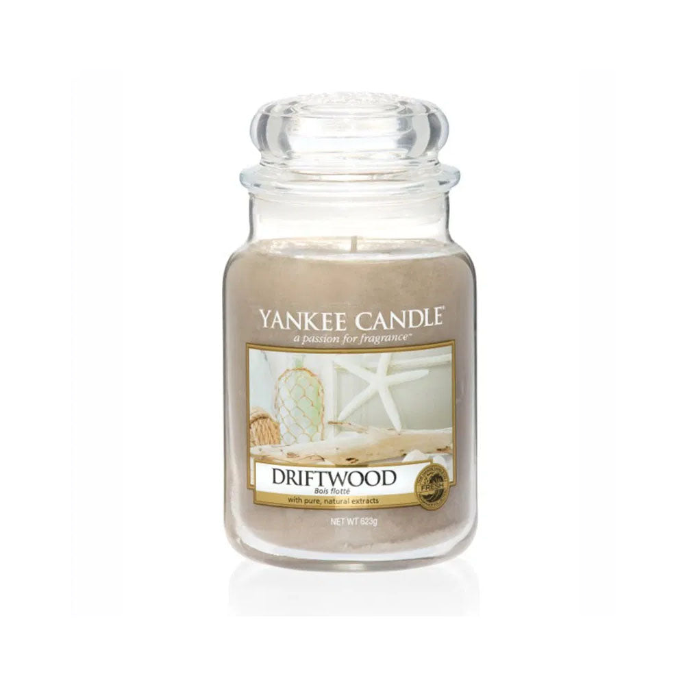 YANKEE CANDLE (DRIFTWOOD) CANDLE