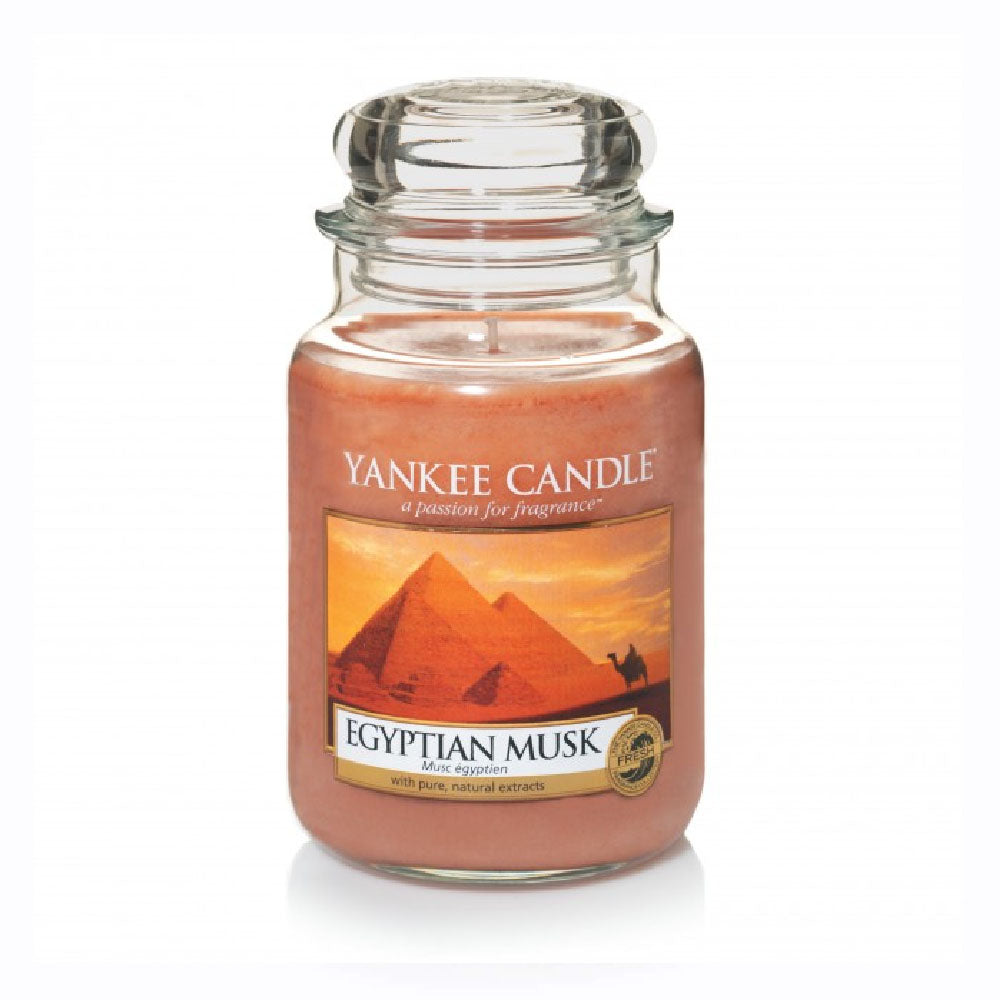 YANKEE CANDLE (EGYPTIAN MUSK) CANDLE