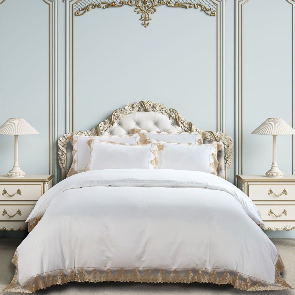 EGYPTIAN COTTON CO (JOSEPHINE) DUVET COVER SET