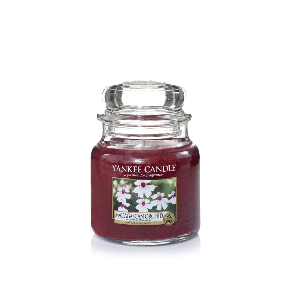 YANKEE CANDLE (MADAGASCAN ORCHID) CANDLE