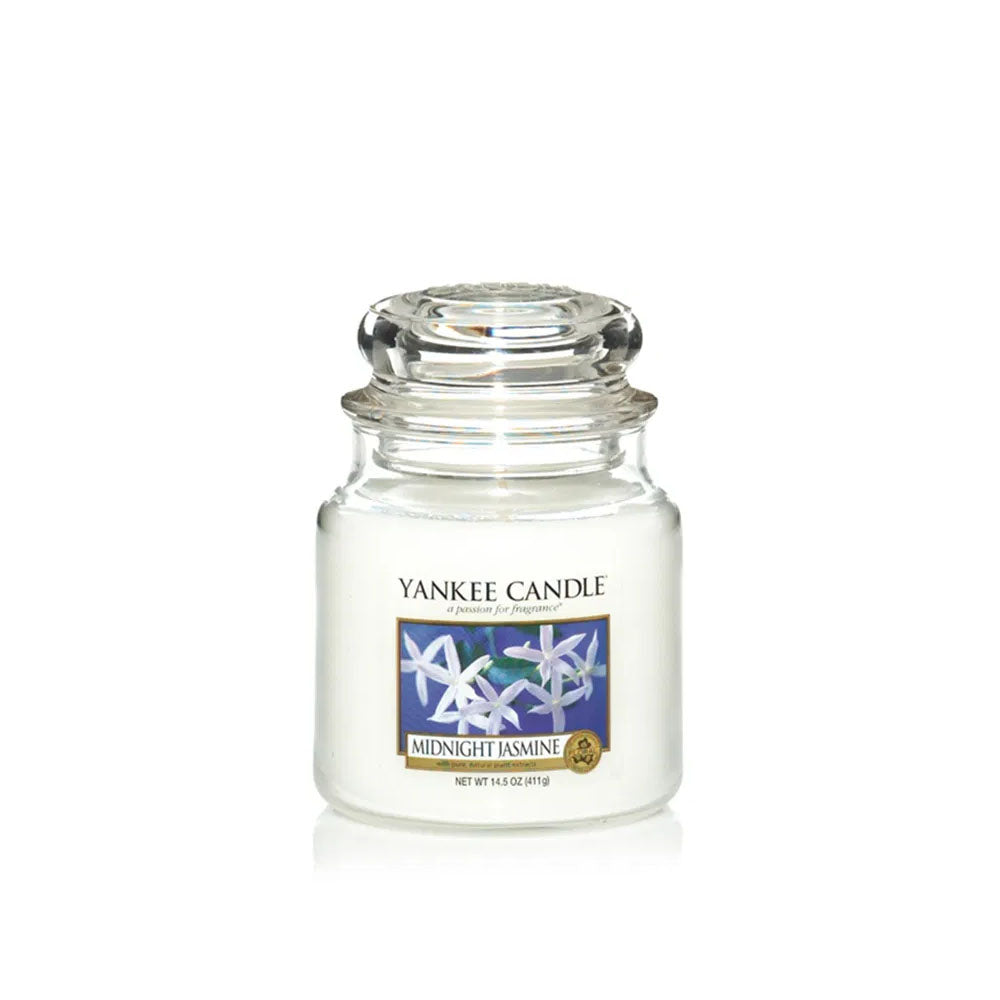 YANKEE CANDLE (MIDNIGHT JASMINE) CANDLE