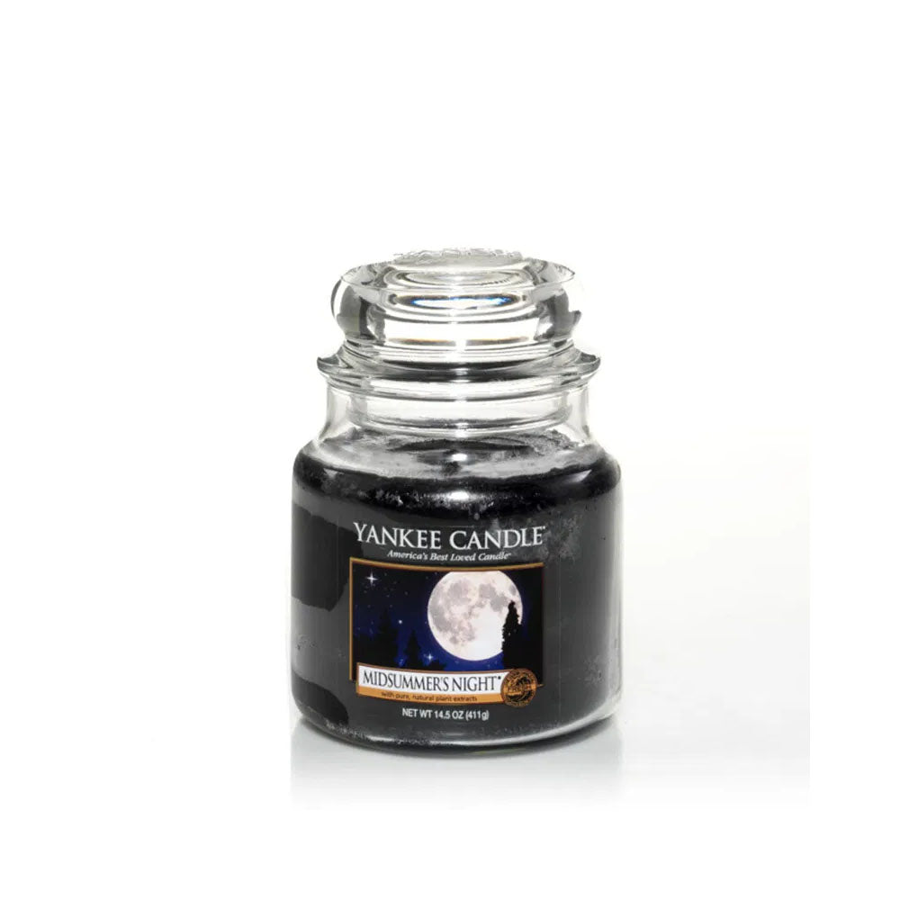 YANKEE CANDLE (MIDSUMMERS NIGHT) CANDLE