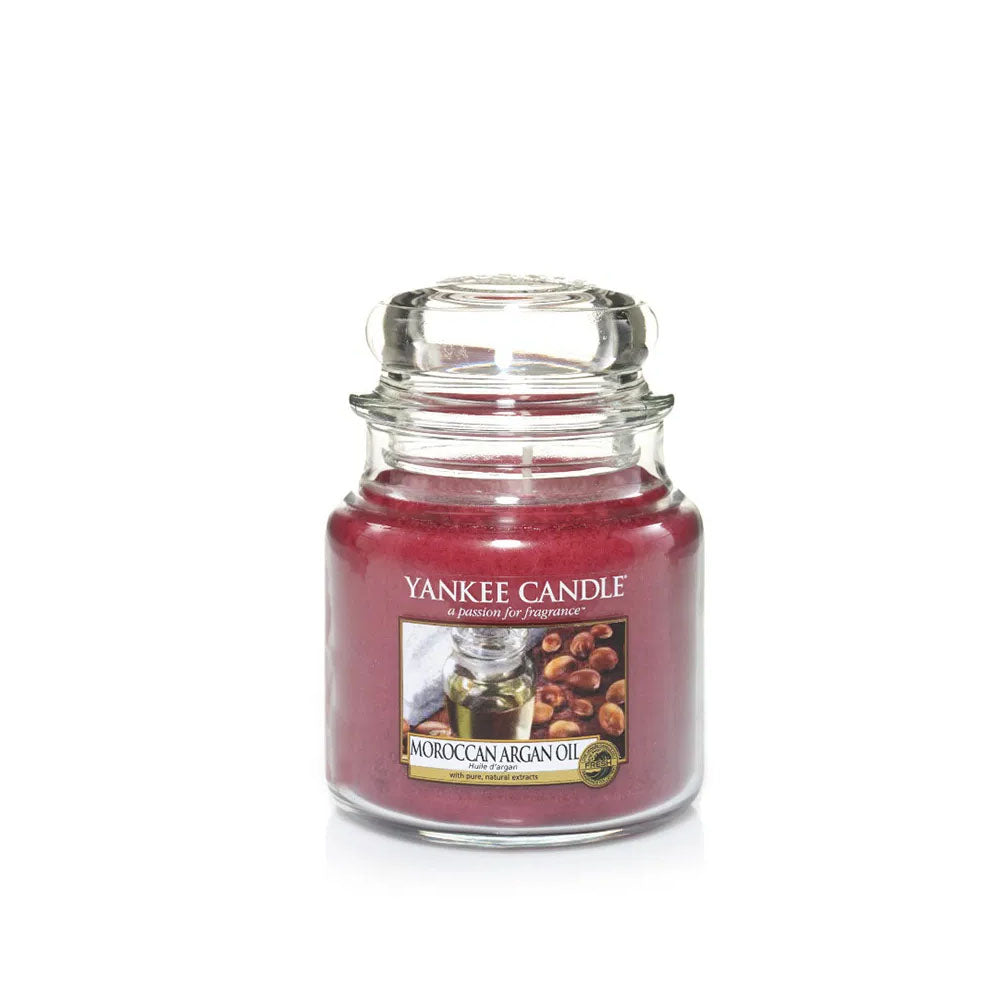 YANKEE CANDLE (MOROCCAN ARGON OIL) CANDLE