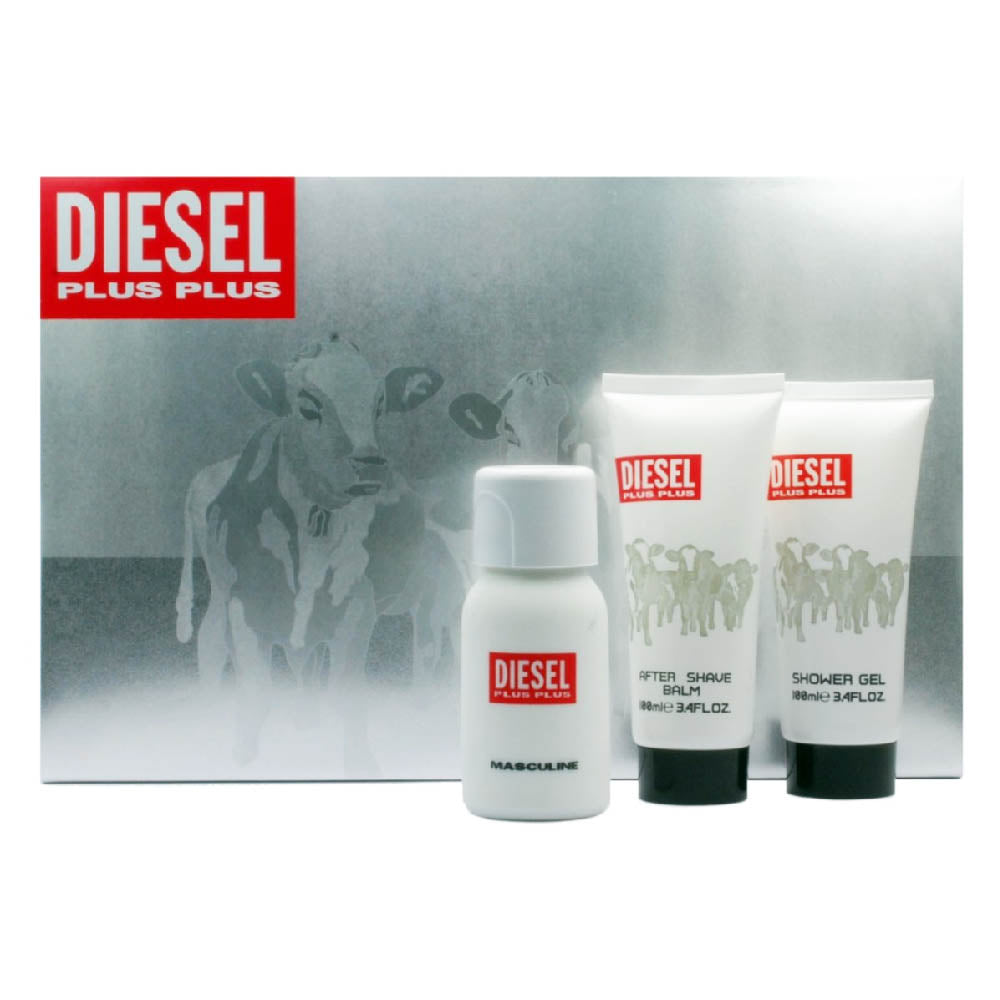 DIESEL (PLUS PLUS) GIFT SET