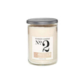 YANKEE CANDLE (NO 2) (COCONUT AND  BEACHFLOWER) CANDLE