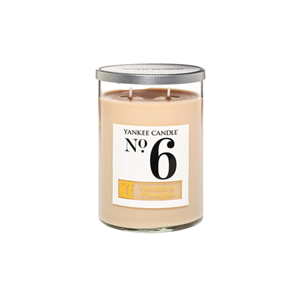 YANKEE CANDLE (NO 6) (COCONUT AND PINEAPPLE) CANDLE