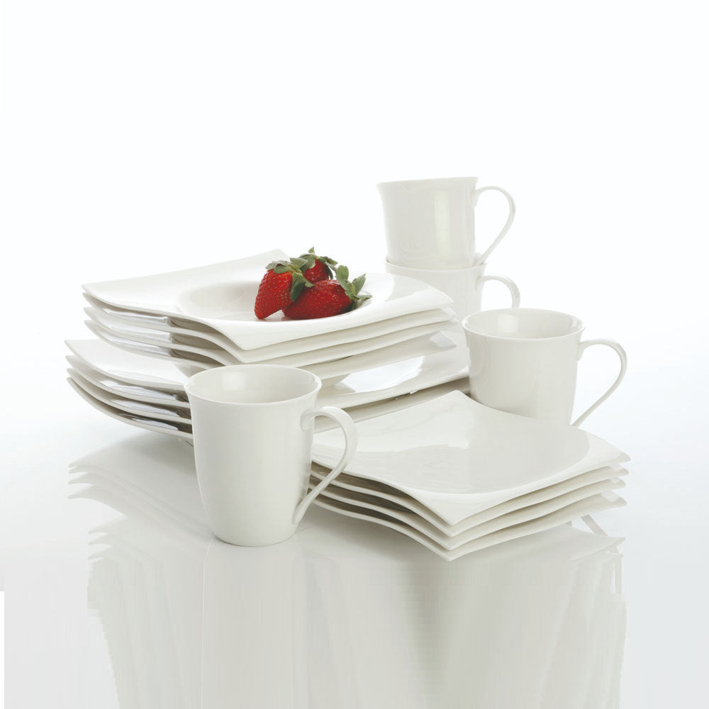 MAXWELL AND WILLIAMS (BASICS MOTION) (16 PIECE) DINNER SET