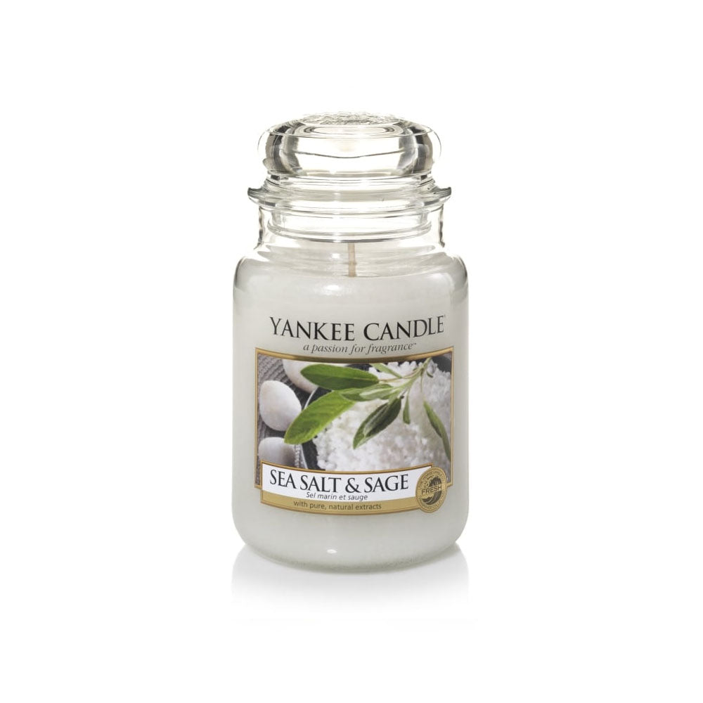 YANKEE CANDLE (SEA SALT & SAGE) CANDLE