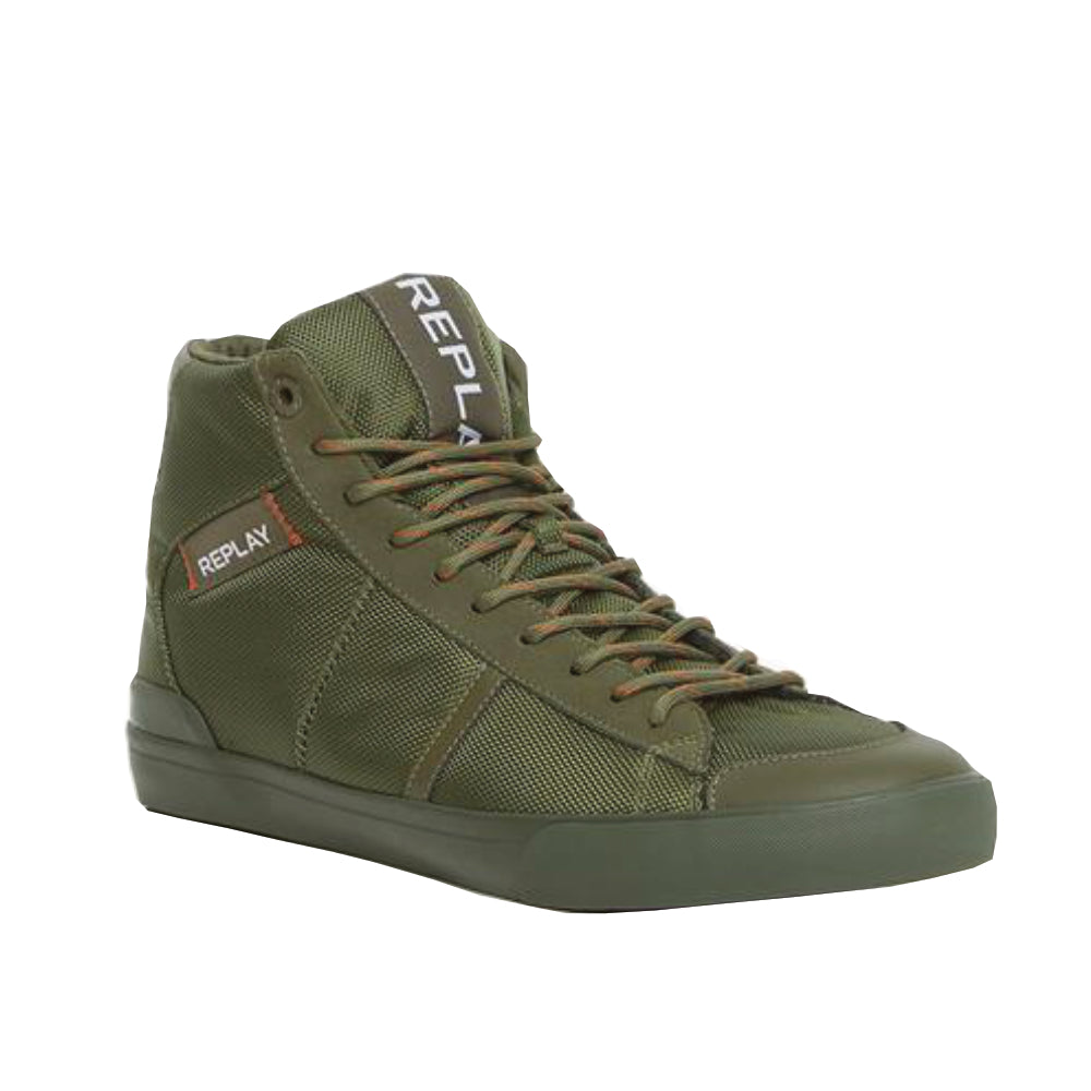REPLAY MEN'S (THEDFORD HI-TOP) SNEAKER