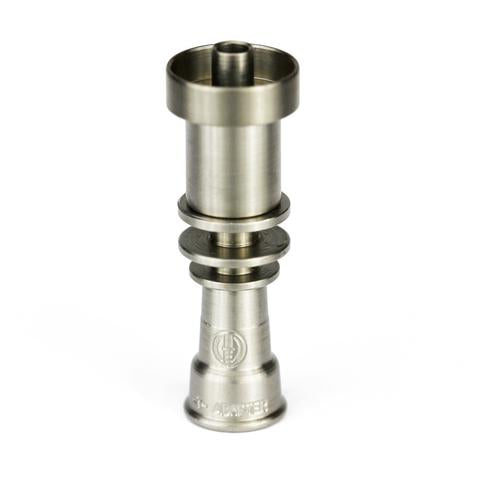 Highly Educated T-Adapter 16mm Titanium Dish - Vapefiend UK