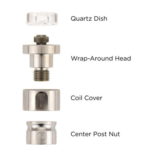 FlowerPot Quartz Wrap-Around Head Set 16mm - Vape fiend