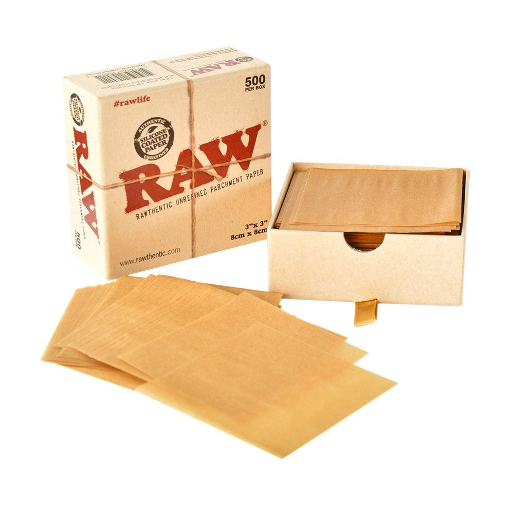 RAW Square Parchment Paper - Vapefiend UK