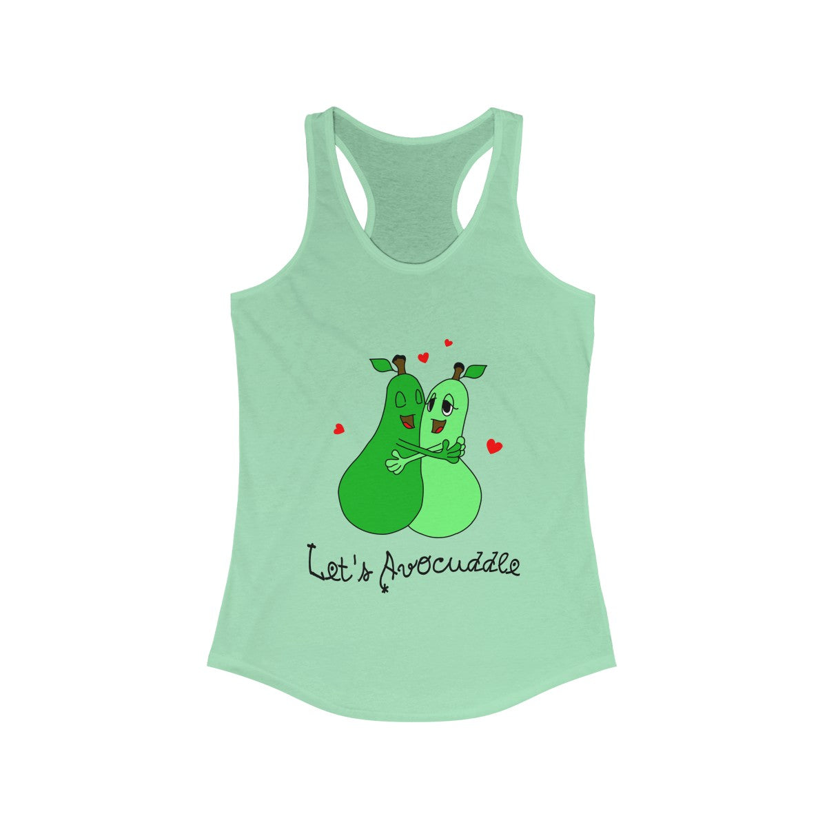 Lets Avocuddle Ladies Tank Top