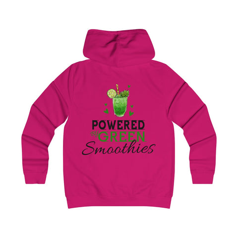 Powered By Green Smoothies Ladies Hoodie