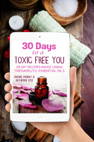 30 Days To A Toxic Free You Book + FREE DIY Homemade Beauty Kit