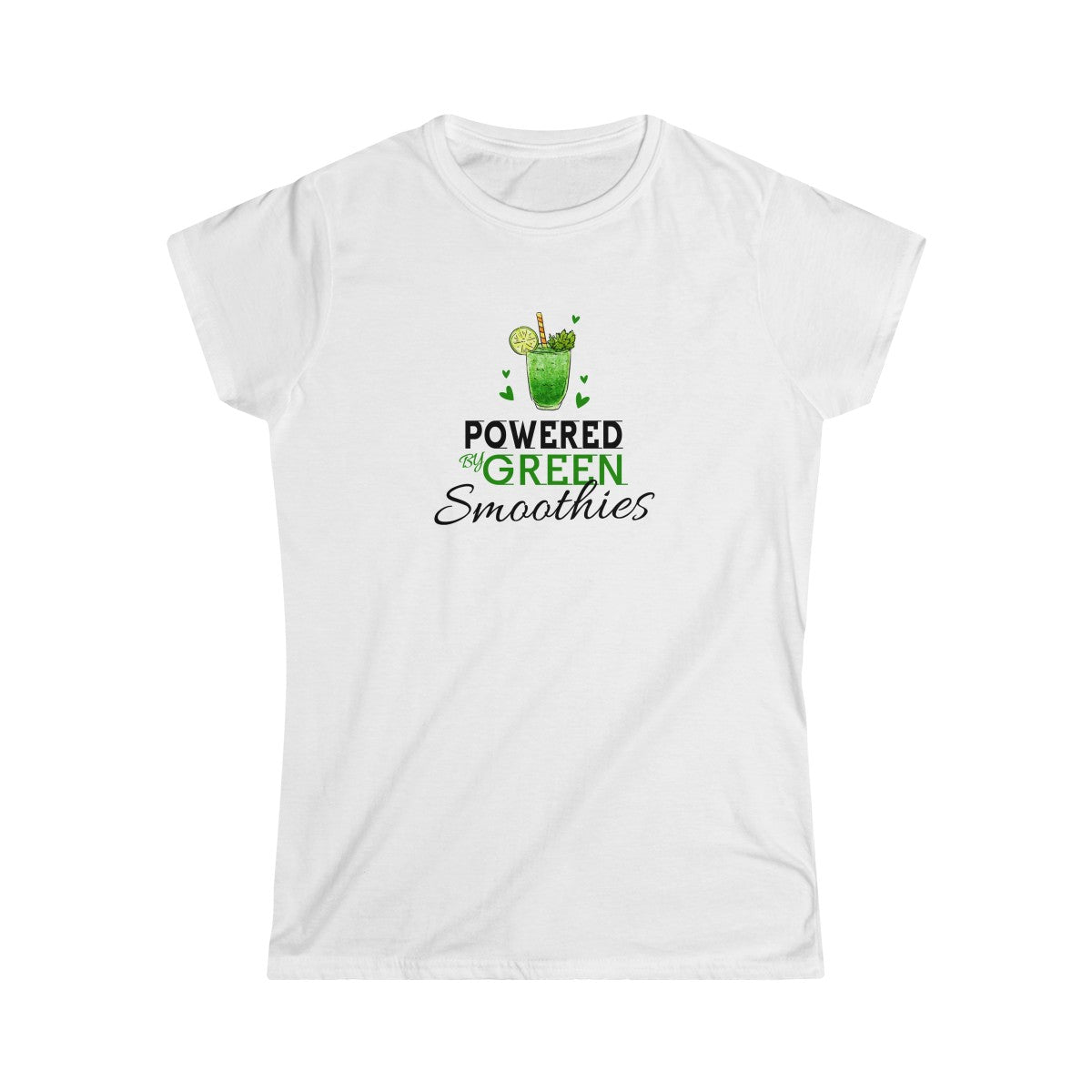 Powered By Green Smoothies Tshirt