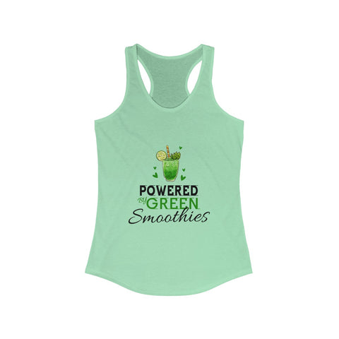 Powered By Green Smoothies Ladies Tank Top