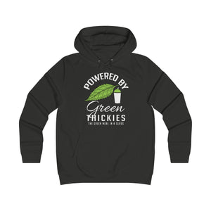 Powered By Green Thickies Hoodie