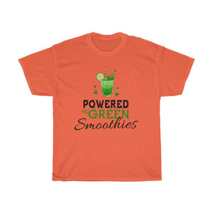 Powered By Green Smoothies Unisex Heavy Cotton Tee
