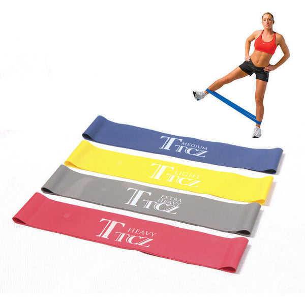 Resistance Exercise Band For Bodybuilding & Yoga, Set of 4