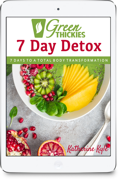 Green Thickies 7 Day Detox + FREE Smoothie Bottle