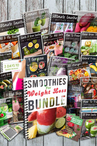 Smoothies For Weight Loss Bundle (260+ Pages)