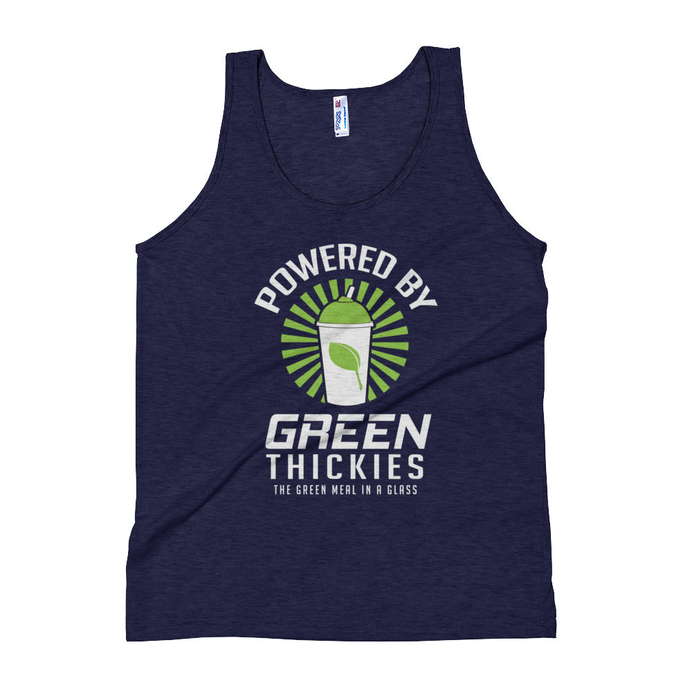 Powered By Green Thickies Unisex Tank Top
