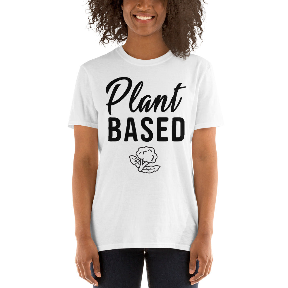 Plant Based Short-Sleeve Women's T-Shirt (Light)