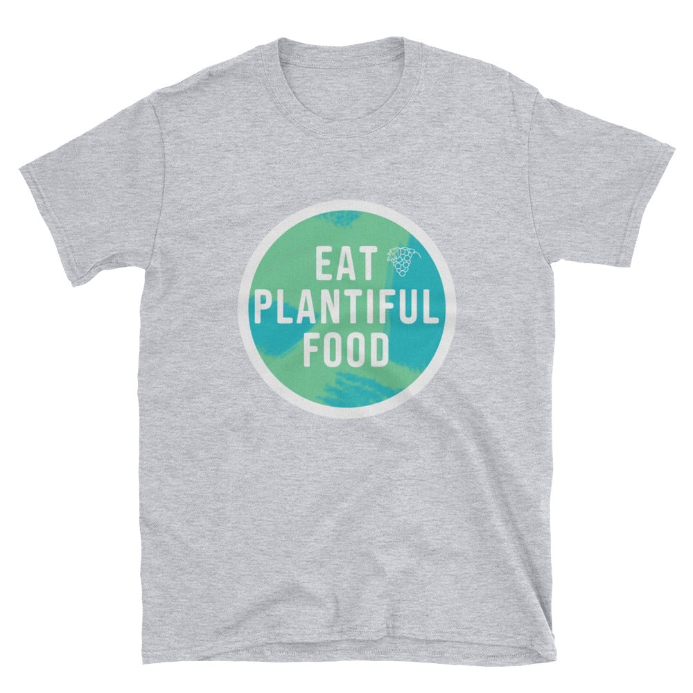 Eat Plantiful Food Short-Sleeve Women's T-Shirt
