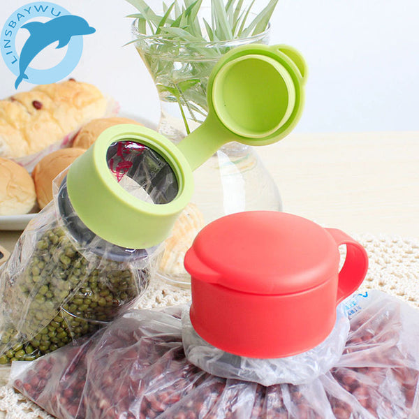 Food Storage Sealing Bag Cap