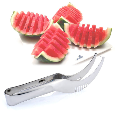 Stainless Steel Watermelon Slicer and Server Multi-functional Tool