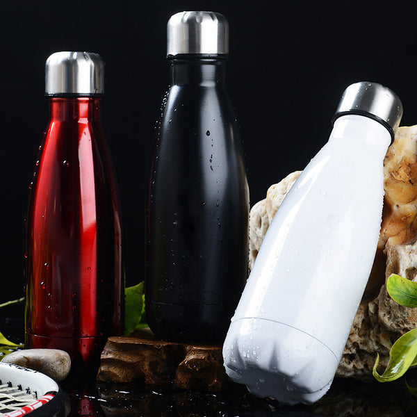 Insulated Leak Proof Stainless Steel Smoothie Bottle