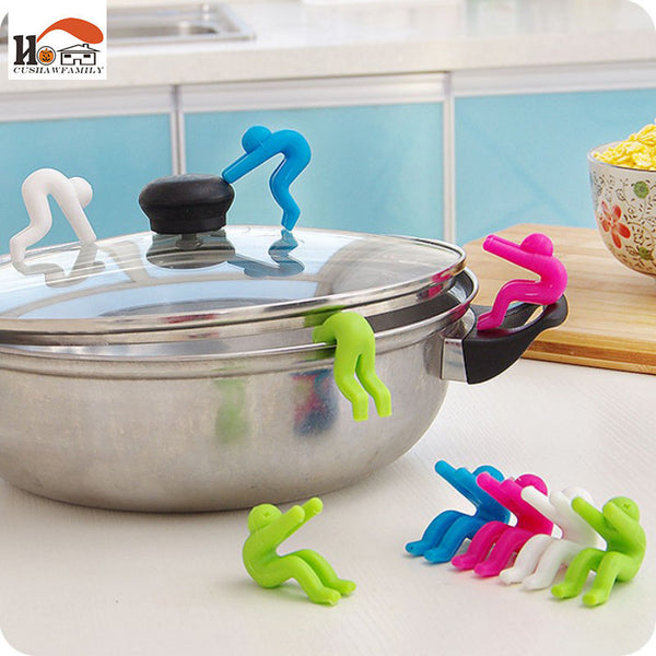 Pot Heightening Spill Control Little Silicone Men
