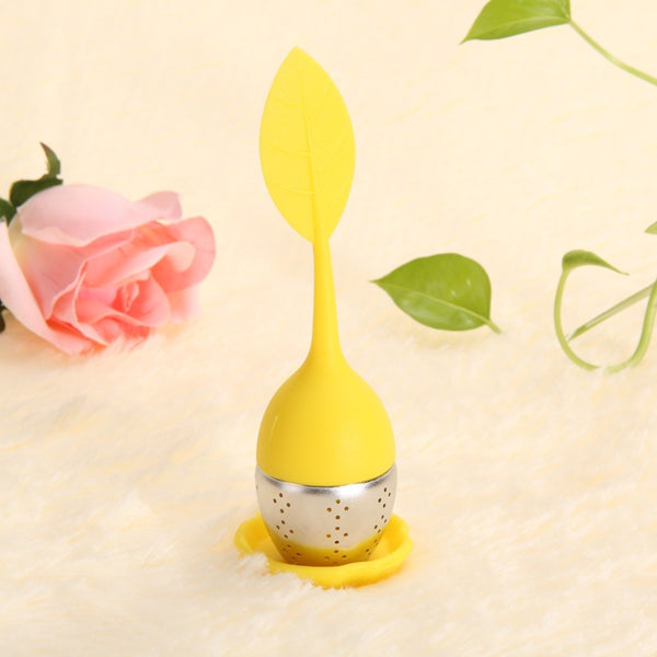 Silicone Tea Leaf Infuser and Strainer