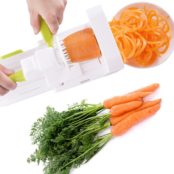 Vegetable Spiralizer: Patented Rotating 5 Blades
