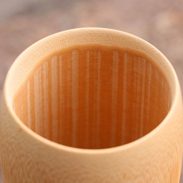 Bamboo Vintage Chinese Wood Cup