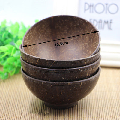 Handmade Natural Coconut Shell Bowl