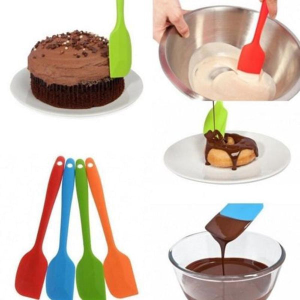 Non-Stick Flexible Spatula For Blending, Baking & Cooking