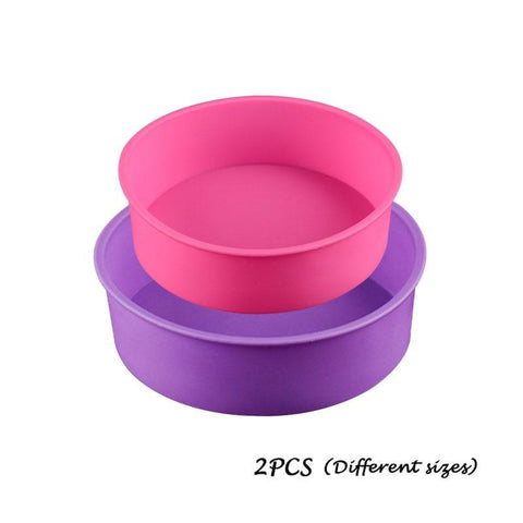 Food Safe Non-stick Silicone Cake Molds