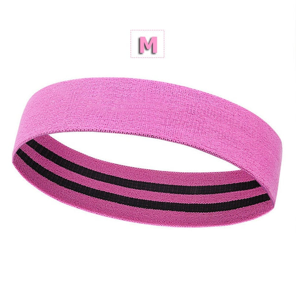 Non-Slip Heavy Duty Booty Band: Resistance Band For Glutes, Legs, Butt & Squats