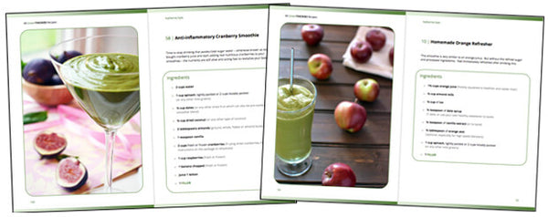 80 Green Thickies Recipe eBook + FREE Smoothie Bottle