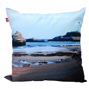Coussin 45 x 45 cm, Biarritz - Phare, Design by Nappe Vegetale