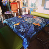 Nappe Imaginaire Bleu, Design by Nappe Vegetale