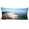 Coussin panoramique 150 x 50, Cote des Basques, Biarritz, design by C. Bruniau, Nappe Vegetale